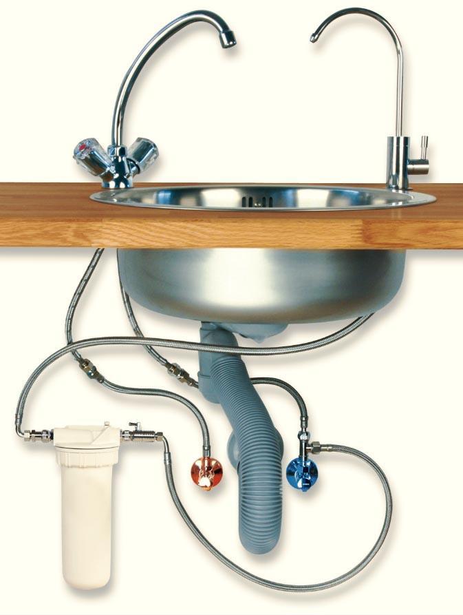 alvito wasserfilter einbau filtersystem untertisch mit wasserhahn trento wasserfiltergeh use. Black Bedroom Furniture Sets. Home Design Ideas
