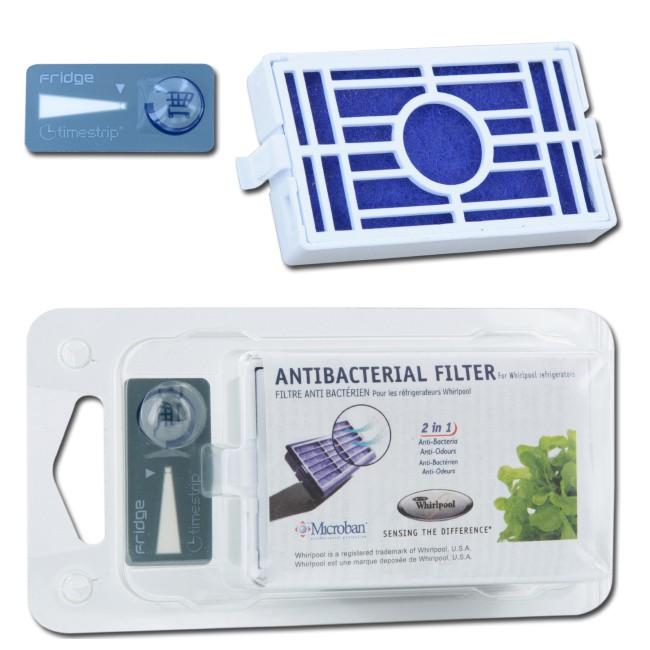 antibakterien k hlschrank filter whirlpool hygiene luftfilter ebay. Black Bedroom Furniture Sets. Home Design Ideas