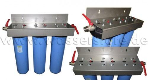 eisenfilter spezial 20 39 39 zoll hauswasseranlage 3 stufig. Black Bedroom Furniture Sets. Home Design Ideas